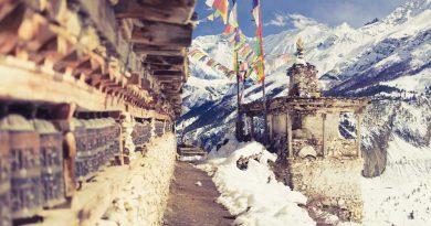góry w Nepalu